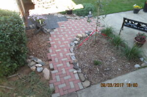 Pavers Patio stones 4x8 red and gray