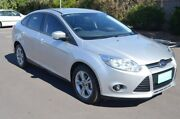 2014 Ford Focus LW MKII MY14 Trend PwrShift Silver 6 Speed Sports Automatic Dual Clutch Hatchback Renown Park Charles Sturt Area Preview