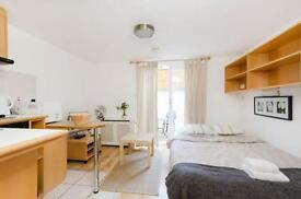 Earls Court: Patio Studio - West Cromwell Road *