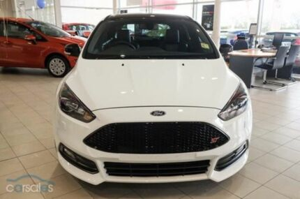 2015 Ford Focus LZ ST Frozen White 6 Speed Manual Hatchback Mornington Mornington Peninsula Preview