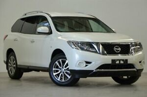 2015 Nissan Pathfinder R52 MY15 ST X-tronic 2WD White 1 Speed Constant Variable Wagon Mascot Rockdale Area Preview