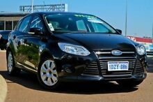 2012 Ford Focus LW Ambiente Black 5 Speed Manual Hatchback East Rockingham Rockingham Area Preview