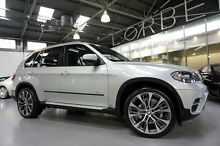 2010 BMW X5 E70 MY11 xDrive 30D Silver 8 Speed Sequential Auto Wagon Port Melbourne Port Phillip Preview
