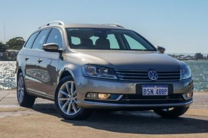 2014 Volkswagen Passat Type 3C MY15 130TDI DSG Highline Beige 6 Speed Sports Automatic Dual Clutch