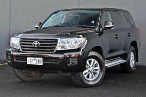 2012 Toyota Landcruiser  Black Sports Automatic Wagon Rocklea Brisbane South West Preview