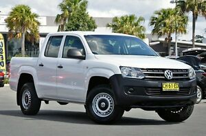 2011 Volkswagen Amarok 2H MY12 TDI340 Candy White 6 Speed Manual Utility South Lismore Lismore Area Preview