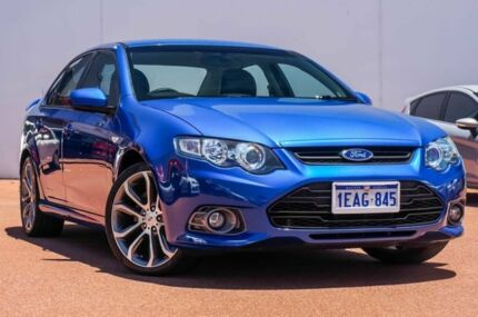 2012 Ford Falcon FG MkII XR6 Limited Edition Blue 6 Speed Manual Sedan East Rockingham Rockingham Area Preview