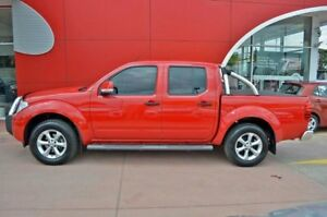 2013 Nissan Navara D40 S6 MY12 ST Red 6 Speed Manual Utility