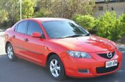 2008 Mazda 3 BK10F2 MY08 Neo Sport Red 5 Speed Manual Sedan Brompton Charles Sturt Area Preview