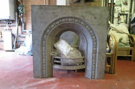 Victorian Cast Iron Fire and Surround (Genuine)