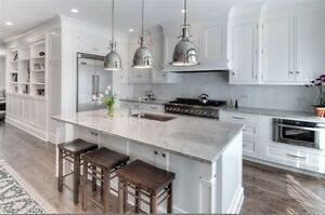 Custom Granite & Quartz Countertops AUGUST Special $29/sqf
