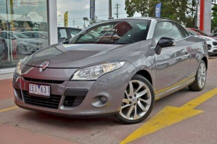2012 Renault Megane III E95 Dynamique Grey 6 Speed Constant Variable Cabriolet Dandenong Greater Dandenong Preview