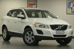 2012 Volvo XC60 DZ MY13 D4 Teknik White Semi Auto Wagon Chatswood Willoughby Area Preview