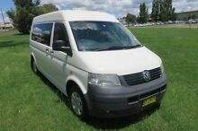 2005 Volkswagen Transporter T5 Low Roof White 6 Speed Sports Automatic Van Orange Area Preview