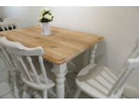 Cottage style 5 piece dining suite