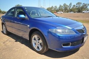 2006 Mazda 6 GG1032 Classic Blue 5 Speed Sports Automatic Sedan Vincent Townsville City Preview