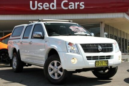 2007 Holden Rodeo RA MY07 LT Crew Cab White 5 Speed Manual Utility Liverpool Liverpool Area Preview
