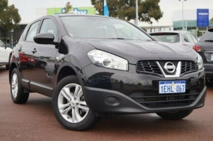 2013 Nissan Dualis J10W Series 4 MY13 ST Hatch X-tronic 2WD Black 6 Speed Constant Variable Hatchbac Wilson Canning Area Preview