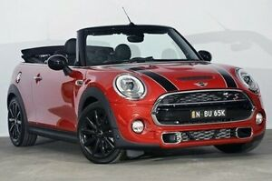2016 Mini Convertible F57 Cooper S Blazing Red 6 Speed Sports Automatic Convertible Alexandria Inner Sydney Preview