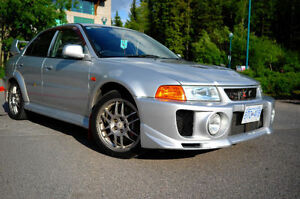1998 Mitsubishi Evo 5 - $6k+ Less than Velocity, Grade 4, Low KM