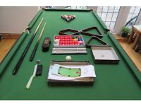 Snooker Table 6ft BCE Folding table