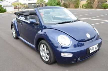 2003 Volkswagen Beetle 1Y MY2003 Blue 6 Speed Sports Automatic Cabriolet Brompton Charles Sturt Area Preview