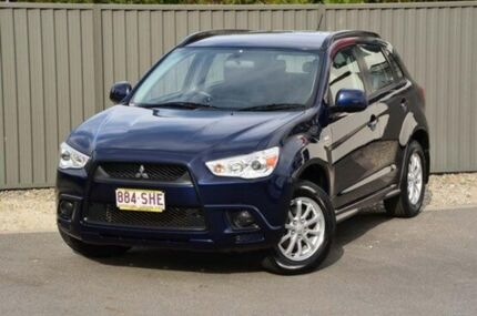 2010 Mitsubishi ASX XA MY11 2WD Blue 6 Speed Constant Variable Wagon Helensvale Gold Coast North Preview