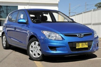 2010 Hyundai i30 FD MY10 SX Blue 4 Speed Automatic Hatchback