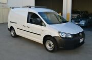 2011 Volkswagen Caddy 2K MY11 Maxi TDI250 White 5 Speed Manual Van Brompton Charles Sturt Area Preview