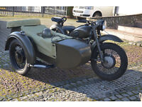 K750 Cossack , Ural, M72, Russian motorcycle boxer with sidecar 1963
