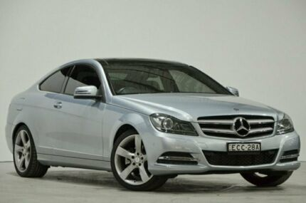 2012 Mercedes-Benz C-Class C204 MY13 C250 BlueEFFICIENCY 7G-Tronic + Diamond Silver 7 Speed Mascot Rockdale Area Preview