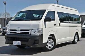 2013 Toyota Hiace White Automatic Bus Frankston Frankston Area Preview