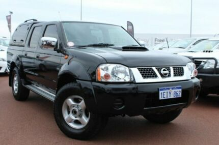 2013 Nissan Navara D22 S5 ST-R Black 5 Speed Manual Utility Balcatta Stirling Area Preview