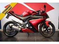 YZF-R125 RED, RIDE AWAY TODAY!