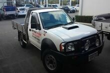 2012 Nissan Navara D22 S5 DX White 5 Speed Manual Cab Chassis Wangara Wanneroo Area Preview