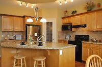 Kitchen Cabinets with Granite