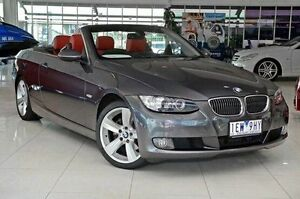 2007 BMW 325I E93 Steptronic Grey 6 Speed Sports Automatic Convertible Dandenong Greater Dandenong Preview