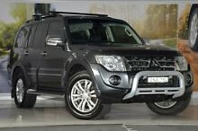 2013 Mitsubishi Pajero NW MY13 Exceed Grey 5 Speed Sports Automatic Wagon Liverpool Liverpool Area Preview
