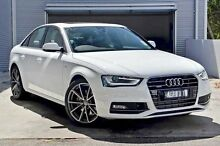 2015 Audi A4 B8 8K MY15 S Line S tronic quattro White 7 Speed Sports Automatic Dual Clutch Sedan Berwick Casey Area Preview