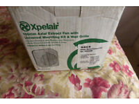XPELAIR 150MM GXC6 WALL OR WINDOW EXTRACTOR FAN WITH PULL CORD240 VOLT