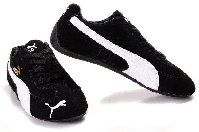 newest a1377 81589 ***RARE*** BLACK SUEDE PUMA SPEED CAT TRAINERS (SIZE 8) *** REDUCED *** |  in Tranent, East Lothian | Gumtree