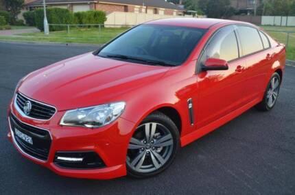 * 2014 VF Holden Commodore SV6 - 6 Speed Auto - Sedan - Hot Red * Minchinbury Blacktown Area Preview