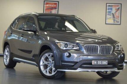 2015 BMW X1 E84 xDrive20d Mineral Grey Sports Automatic Wagon