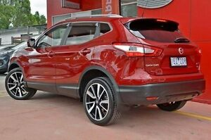 2015 Nissan Qashqai J11 TI Red 1 Speed Constant Variable Wagon Dandenong Greater Dandenong Preview