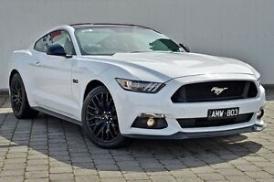 2016 Ford Mustang FM GT Fastback SelectShift Oxford White 6 Speed Sports Automatic Fastback Dandenong Greater Dandenong Preview