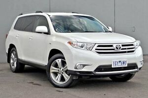 2012 Toyota Kluger  White Sports Automatic Wagon Rocklea Brisbane South West Preview
