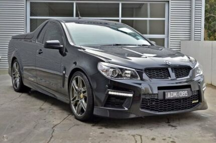 2015 Holden Special Vehicles Maloo GEN-F MY15 GTS Black 6 Speed Manual Utility