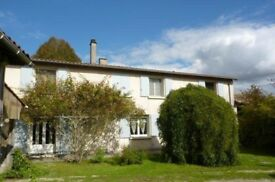 Country house with large garden in rural Western France