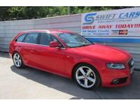 Audi A4 Avant 2.0TDI ( 143PS ) 2009MY S Line ***CREDIT & DEBIT CARDS ACCEPTED***