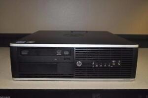 HP Compaq 8200 Elite Small Form Factor.Intel Core i5-2500 (3.30 GHz, , 4 cores.500gb hard drive